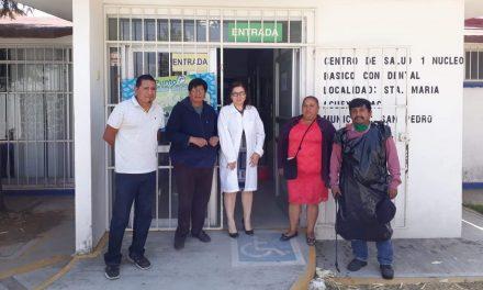 Realizan sanitización y desinfección en Cocoyotla