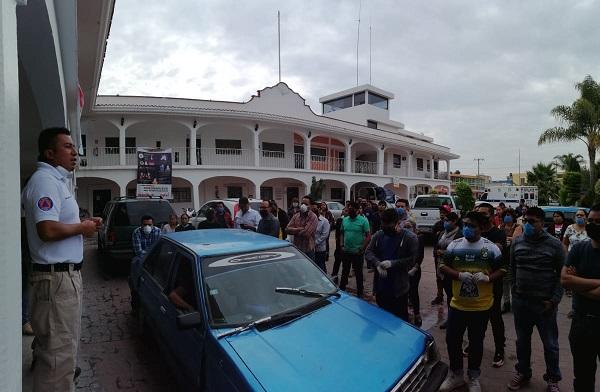 Recorre Protección Civil de Ocoyucan posibles lugares afectados