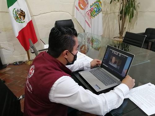 Afinan estrategias de seguridad Ayuntamiento de San Andrés Cholula y la UDLAP