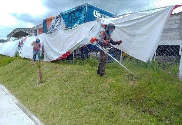 Mantenimiento de espacios en Oocoyucan