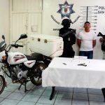 En coordinación con la Guardia Nacional, detienen policías de San Pedro Cholula a presunto asaltante de tiendas Oxxo