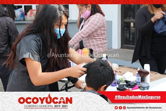 Jornada de servicios en Ocoyucan