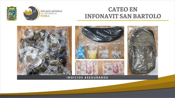 Vinculado a proceso presunto narcomenudista detenido en San Bartolo