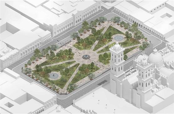 Ayuntamiento de Puebla informa que remodelación de Zócalo concluirá en septiembre