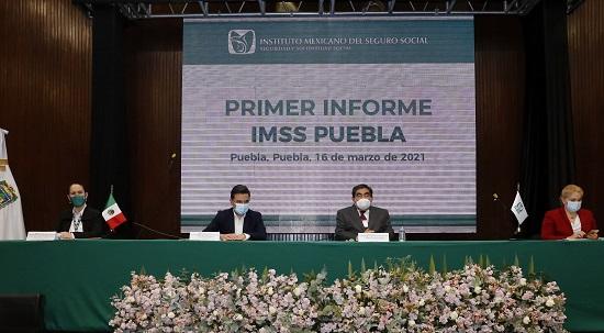 RECONOCE BARBOSA HUERTA TRABAJO REALIZADO POR EL IMSS Y SU PERSONAL EN ESTA PANDEMIA