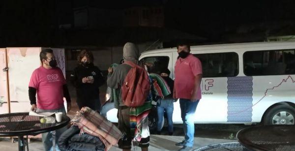 """Con 271 beneficiarios culminó el programa """"Albergue Navideño"""" que permitió cero decesos por hipotermia en San Pedro Cholula"""