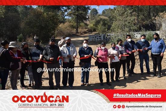 Nueva red de drenaje en Chalchihuapan