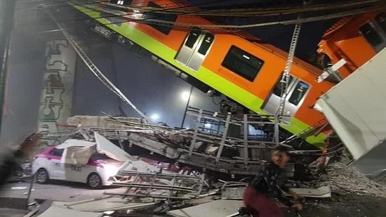 Colapso en puente del Metro en la Línea 12 deja 15 muertos y 70 heridos; aún hay personas atrapadas