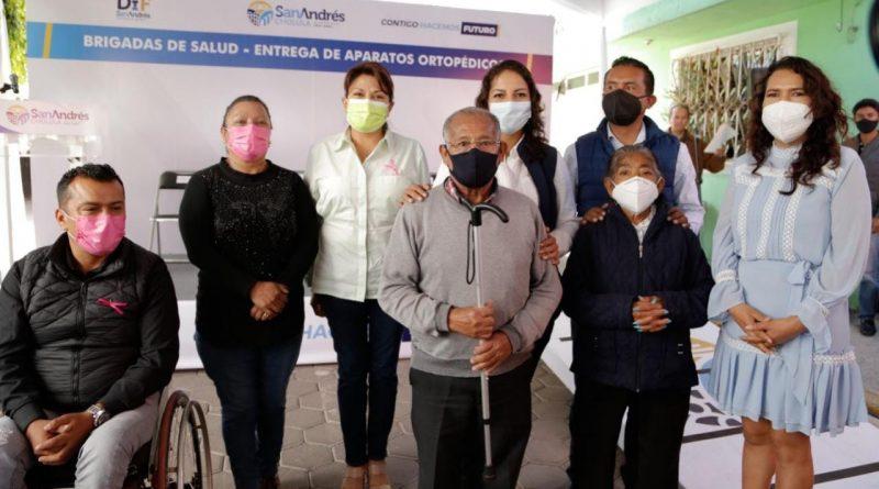 CONTINÚA AYUNTAMIENTO DE SAN ANDRÉS ACERCANDO SERVICIOS MÉDICOS