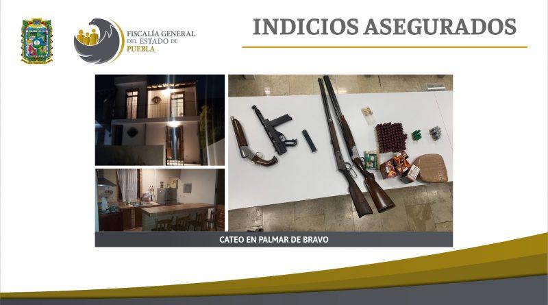 Fiscalía Puebla cateó 3 ranchos en Quecholac y Palmar de Bravo